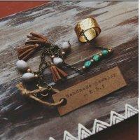 Fringe Bracelet Ring