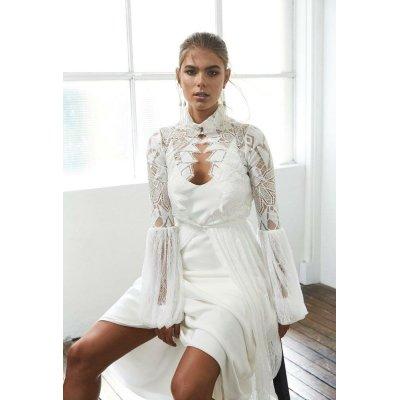 画像1: Grace loves lace Dress レンタル(オルティガ風柄、羽織)