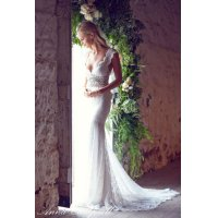 Anna Campbell Bridal Dress レンタル(ビジュ付タイプ2)