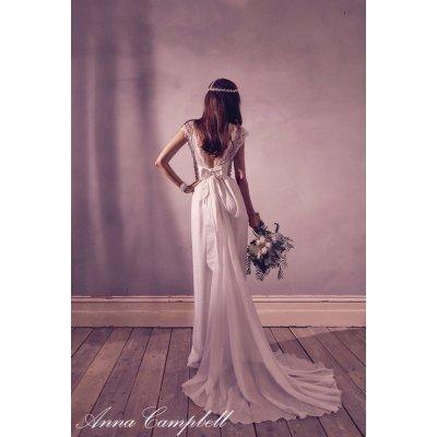 画像2: Anna Campbell Bridal Dress レンタル(ビジュ付タイプ2)