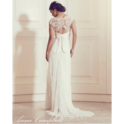 画像2: Anna Campbell Bridal Dress レンタル(Slimline Lace)