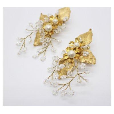 画像2: orgablanca レンタル(オルガブランカ)LOREN earring(ローレンイヤリング)