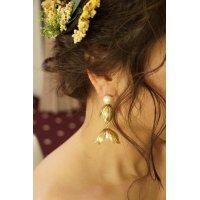 orgablanca レンタル(オルガブランカ)PETLA W flower earring(ペトラダブルフラワーイヤリング)