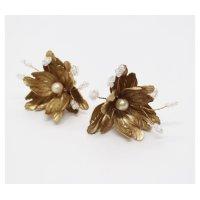 orgablanca レンタル(オルガブランカ)PETLA flower earring(ペトラフラワーイヤリング)